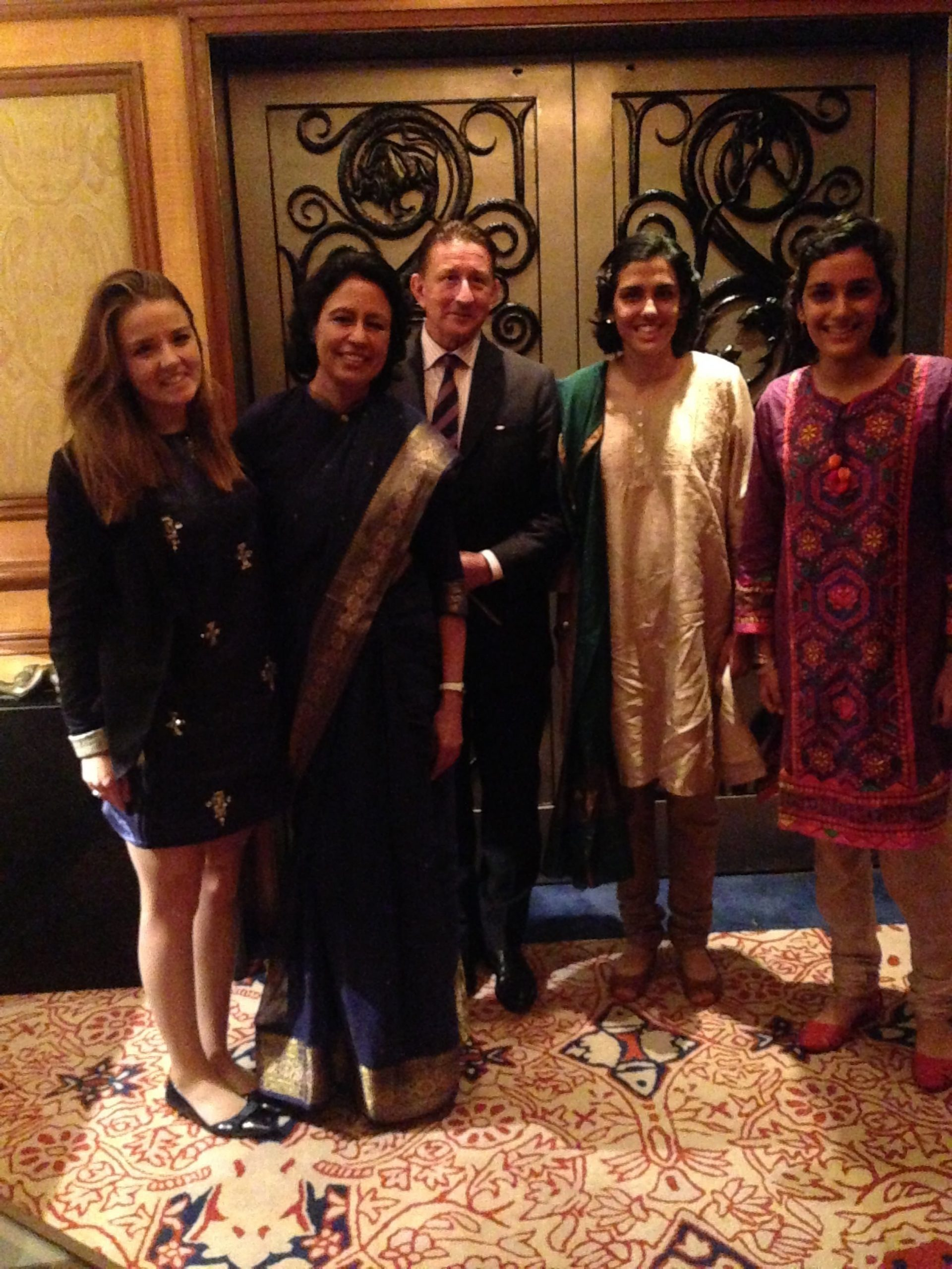 CSPH and CME meeting Karin Singh and her Daughters