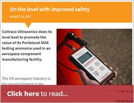Aerospace Manufacturing Problem Solved - On The Level With Improved Safety - 10 Aug