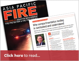 Asia Pacific Fire Publishes Article On Why Compartmentation Testing Is Overlooked And Undervalued - March 2019