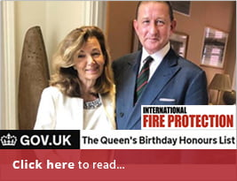 International Fire Protection Publishes News About CEO OBE - June Newsletter 2019