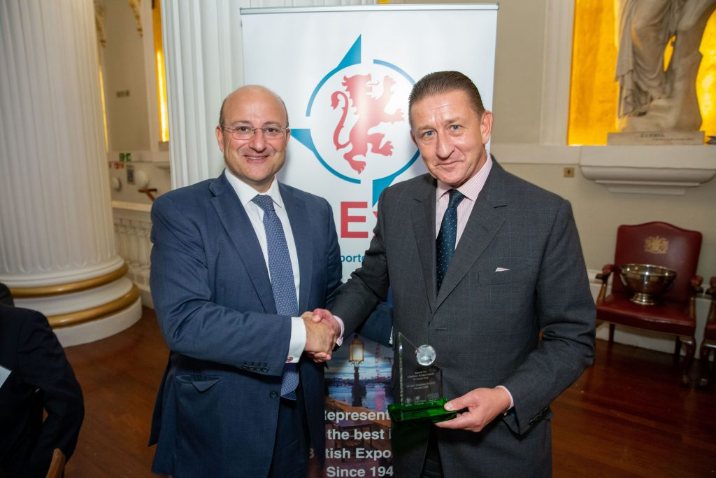 CSPH Export Award Louis Taylor