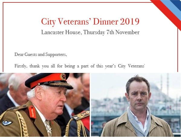 City Veterans Dinner