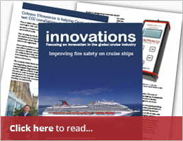 "International Cruise Ship Industry Publishes ""Innovations Report"" On Coltraco Ultrasonics About Improving Fire Safety On Cruise Ships - 04 Sept 2017"
