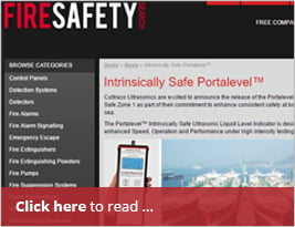 [Editorial] Fire Safety Search - Portalevel Intrinsically Safe