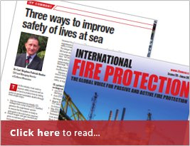 International Fire Protection Shares Article On Three Ways To Improve Safety Of Lives At Sea - June 2019