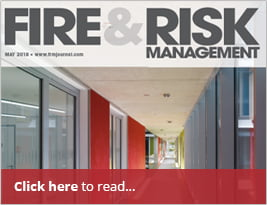 Fire & Risk Management Article On Compartmentation - 3rd May 2018.
