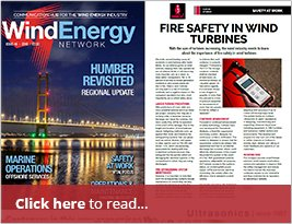 Article On Fire Safety In Wind Turbines - Wind Energy Network - November 20th 2018
