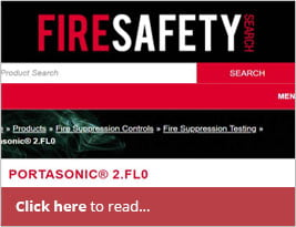 Fire Safety Search Publishes News Read About Portasonic 2.FL0