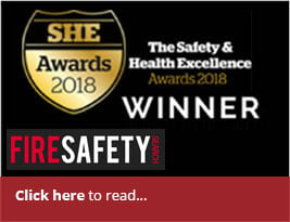 Fire Safety Search Feature Award News - 24 Apr 2018