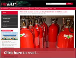 PRESSURE GAUGES ALONE ARE INSUFFICIENT FOR DETECTING LEAKS - 25th January 2019 - Fire Safety Search