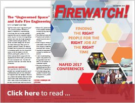 FireWatch! NAFED - Article On Ungoverned Space - Dec 2016