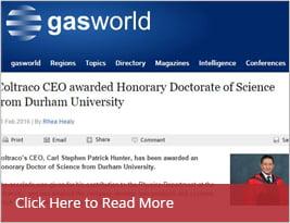 GasWorld Publishes CEO Honorary Award