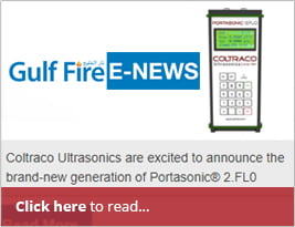 Gulf Fire Publishes Our Press Release In Their E-news - 08 Oct 2018