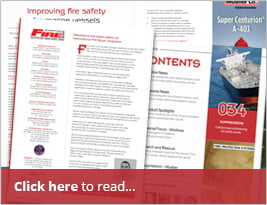 International Fire Buyer - Article About Bolstering Fire Safety At Sea Pp. 34-35 - July 2018