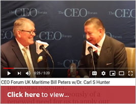 WATCH: CEO Forum Interview In NYC - With Bill Peters & Carl Hunter - During The UK-US International Trade Day - 10 Jan 2019