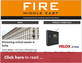[Editorial] Fire Middle East Publishes Portalevel Intrinsically Safe.