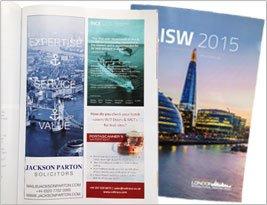 London International Shipping Week 2015