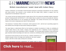 DIT Helps Coltraco Secure Deal With Indian Navy - 31 Dec 2018 - Marine Industry News