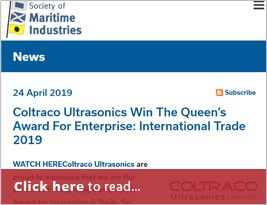 Society Of Maritime Industries Publish Queen's Award - 24 Apr 2019
