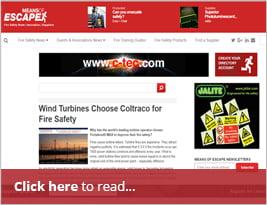 Means Of Escape Publish Wind Turbine Safety 08 Dec 2017