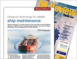 Oil Review Middle East Jan 2017 Publishes Importance Of Watertight Integrity Testing Offshore