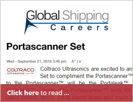 [Editorial] Global Shipping Careers Publishes Portascanner Evidential