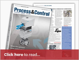 Process & Control Magazine Published Portalevel MAX Food Industry Case Study - July/August Edition
