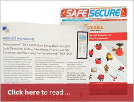 [Editorial] Safe Secure India - Sept 2016 Publishes Room Integrity Testing News