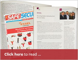[Editorial] Safe Secure India - Sept 2016 Publishes Article About India's Infrastructure Safety
