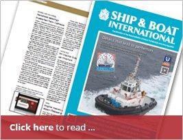 Ship & Boat International Publishes Portamonitor Bearing Indicator - Oct 16