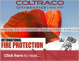 Signed Armed Forces Covenant Shared In International Fire Protection - 14th November 2018
