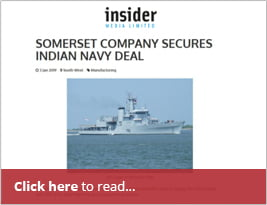 Somerset Company Secures Indian Navy Deal - 3 Jan 2019 - SouthWest Business Insider