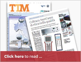 TTM - Tecnologie Trasporti Mare Publishes Article On Measurement Technology [in Italian]