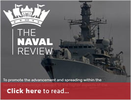 The Naval Review Publish Carl Hunter's 'South China Seas & Implications For UK Defence' - Pp 157-167 - May 2019 Issue