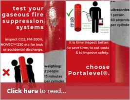 UK Fire - Advertising Portasteele CALCULATOR - January 2019