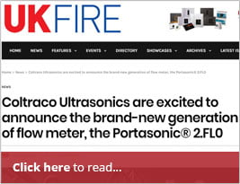 UKFire Announce News Of Next Generation Of Flow Meter - 11th October 2018