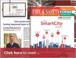 ARTICLE: Fire & Safety Security India - June 2016 Write Up On Page No.28