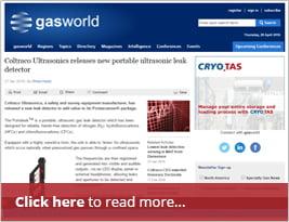 EDITORIAL: GasWorld Publishes Article On Portaleak™ - Apr 2016