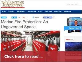 Marine Fire Protection - An Ungoverned Space