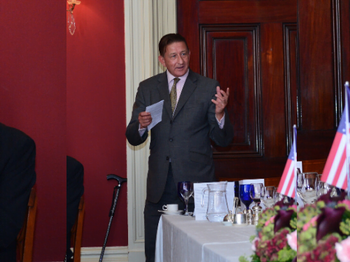 CSPH addressing the Conservative Foreign & Commonwealth Council – October 2019