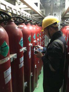 3 Portamarine testing ship CO2 systems
