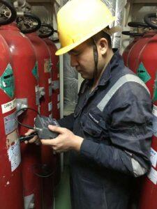 Portamarine testing ship CO2 systems