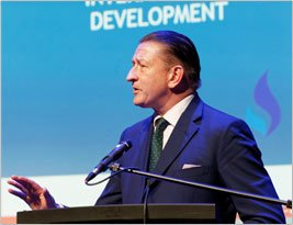 Mr Hunter spoke at the Conservative Progress Annual Conference 2019