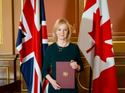 Liz Truss UK Canada trade deal