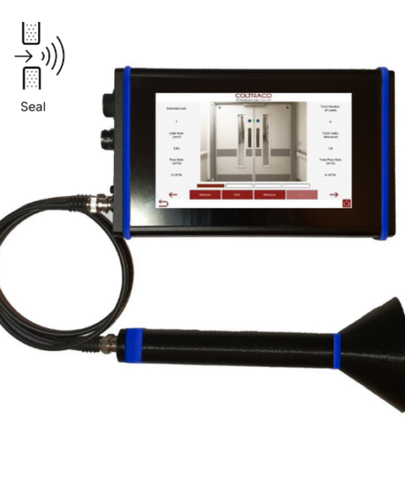 Portascanner COVID-19 receiver