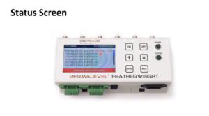 Permalevel Featherweight status screen