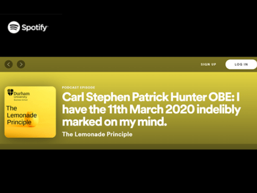 Carl Hunter OBE Lemonade Podcast