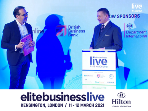 Elite Business Live panel Carl Hunter OBE Olly Coltraco Ultrasonics